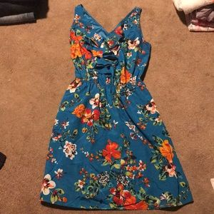 Express Floral Sundress